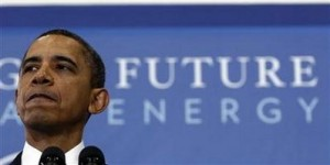 U.S. President Barack Obama delivers remarks on his energy strategy at Georgetown University in Washington