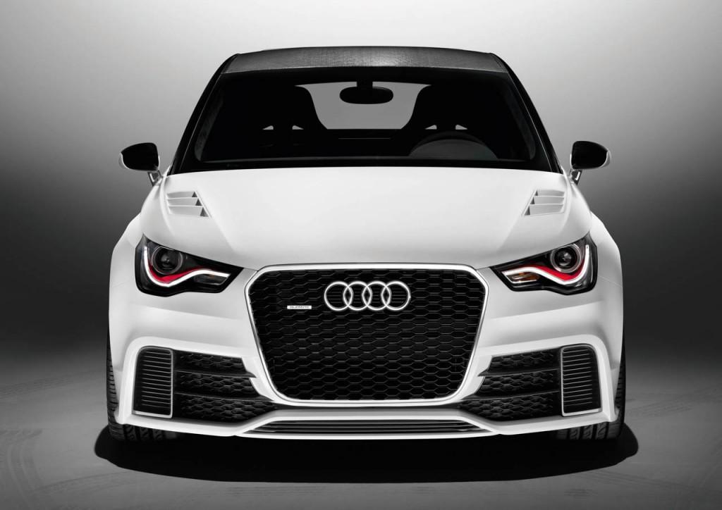 Audi A1 clubsport quattro /Standaufnahme