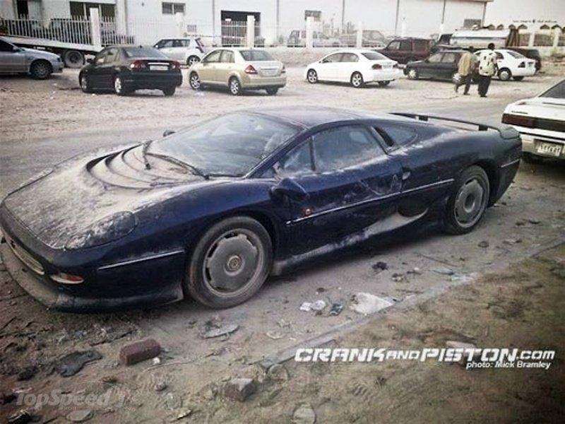 Luxury Cars - Abandoned Jaguar XJ