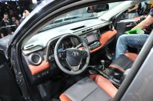 2013 Toyota RAV4 at LA Auto Show