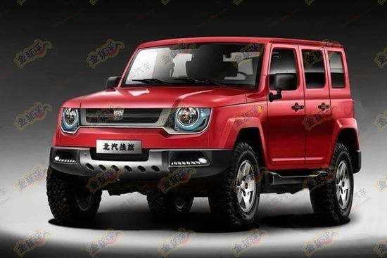 Chinese automaker copies the Land Rover Defender's concept