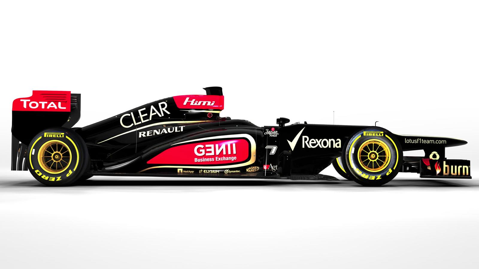 2013 Lotus F1 car 3