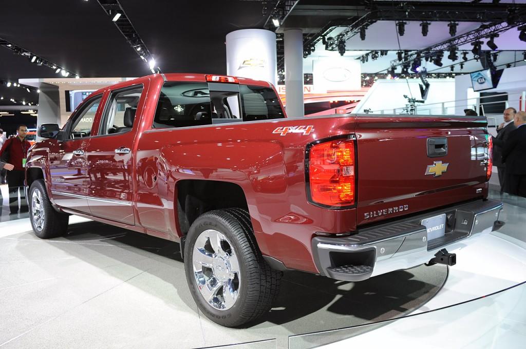 2014 Chevrolet Silverado - Detroit Auto Show 2013