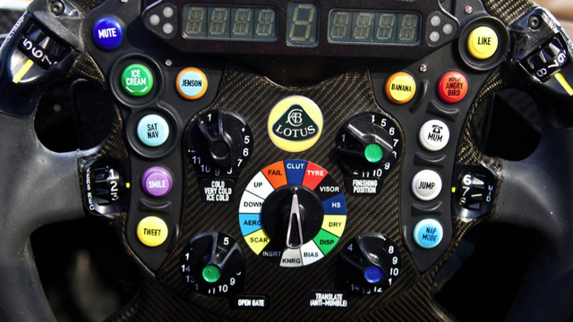 Lotus F1 Wheel Tb