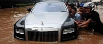 Rolls Royce Ghost flooded 1