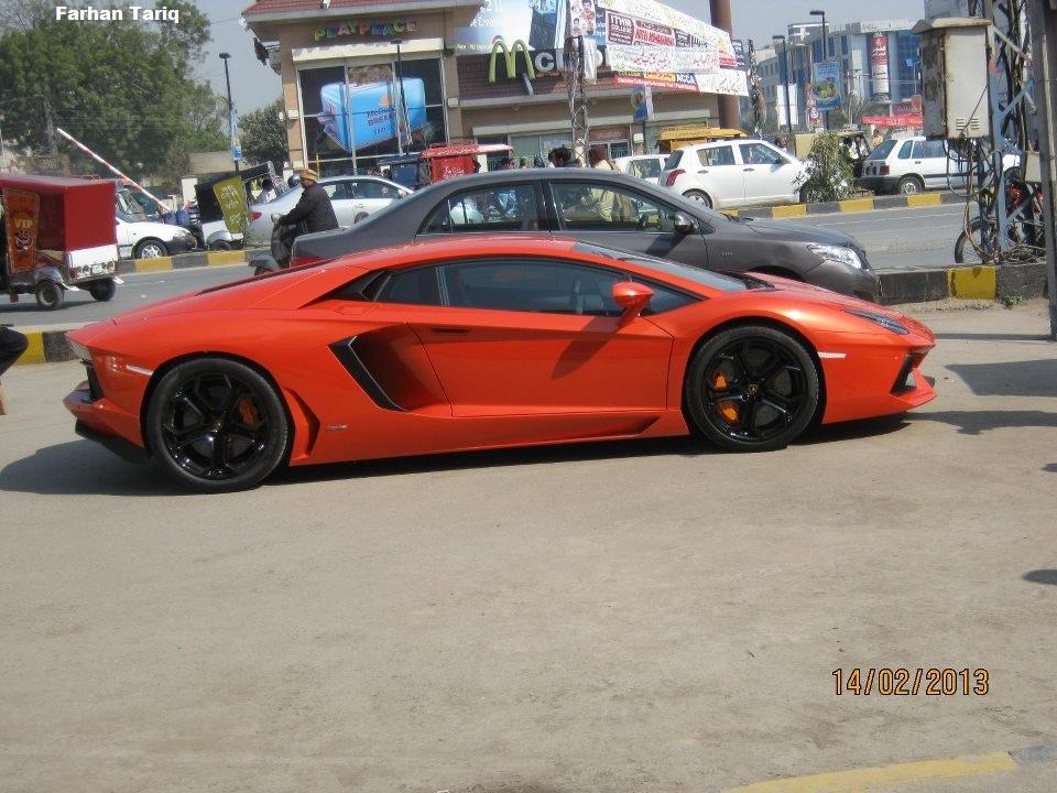 Pakistan S First Lamborghini Aventador Lp700 4 Pakwheels Blog