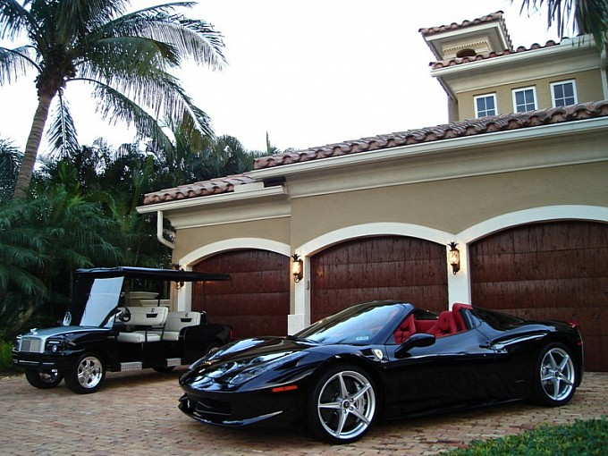ferrari-458-spider-meets-rolls-royce-golf-cart-3
