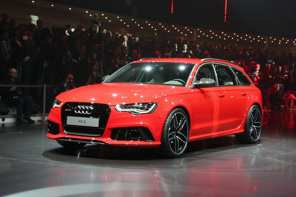 2014 Audi RS6 Avant Geneva-auto-show-2013