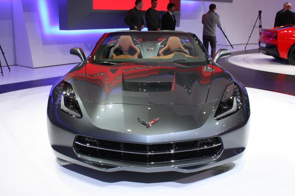 2014 Chevrolet C7 Corvette Convertible Geneva-auto-show-2013