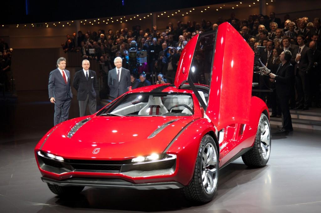 2014-Italdesign Giugiaro Concept Geneva-auto-show-2013