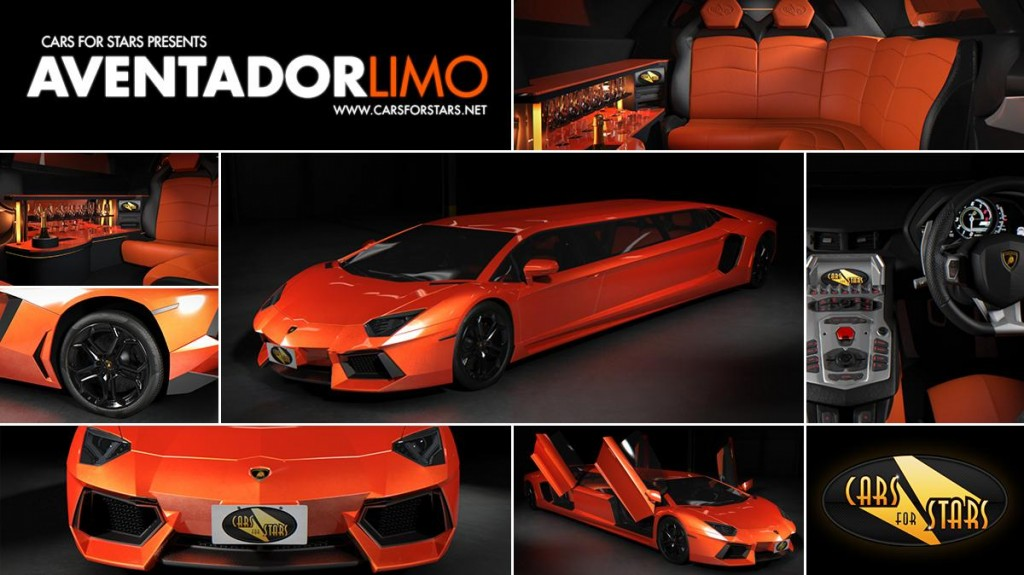 Lamborghini Aventador Limo might be the worst limo you'll ...