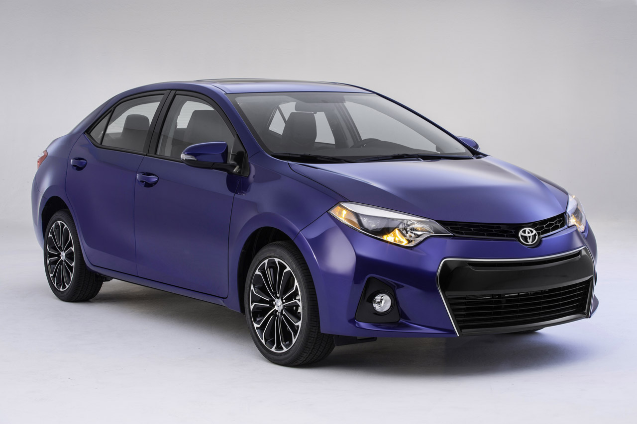 Pics: 2014 Toyota Corolla launched in the US - PakWheels Blog