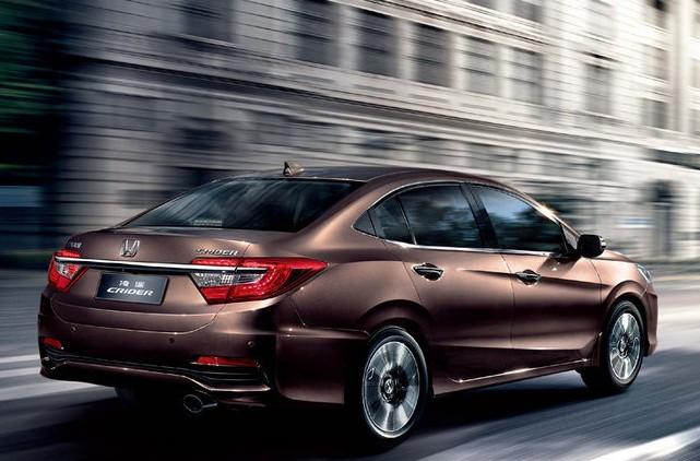 China only Honda Crider fits perfectly between Civic and Accord - PakWheels Blog
