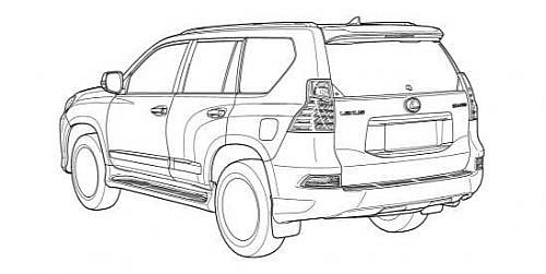 Toyota Prado and Lexus GX facelift pictures leaked ...