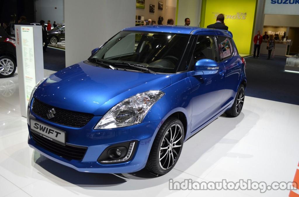 Front-three-quarter-of-the-2014-Suzuki-Swift-facelift