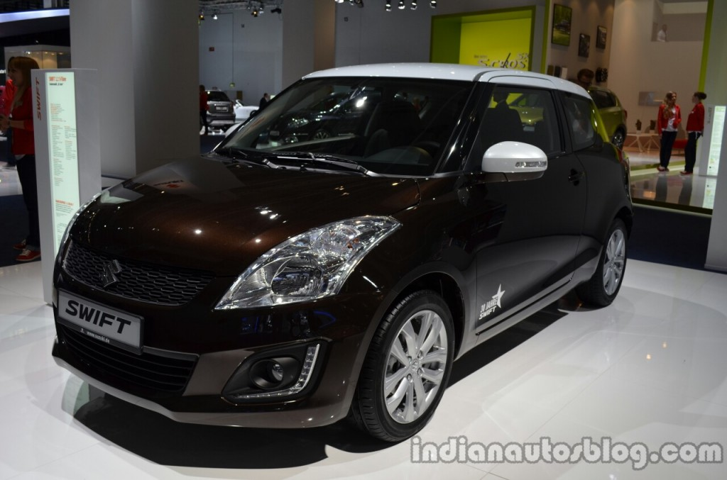 Front-three-quarter-of-the-Suzuki-Swift-30-Jahre-Edition