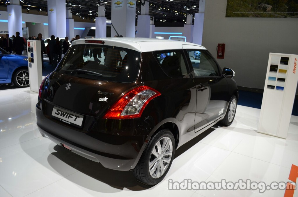 Rear-three-quarter-of-the-Suzuki-Swift-30-Jahre-Edition