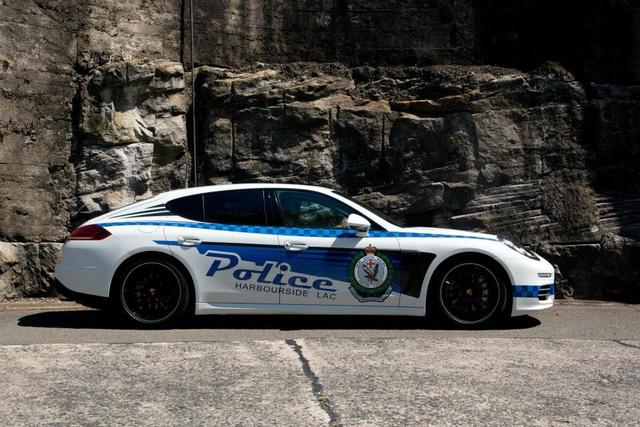 Panamera Police Car 4