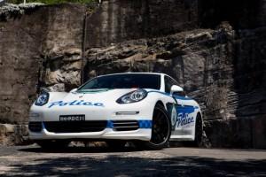 Panamera Police Car 5