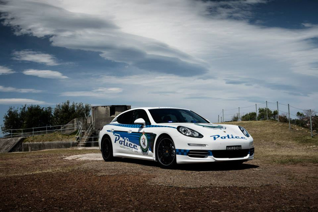 Panamera Police Car 6