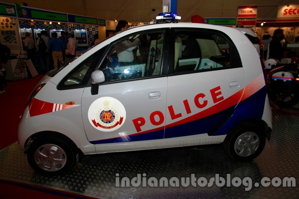 Tata Nano Is Now The World S Cheapest Police Car
