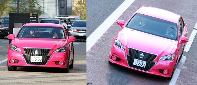 Toyota Sold 650 Pink Crowns Pakwheels Blog