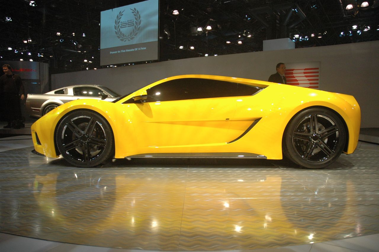 saleen may make another supercar named s8