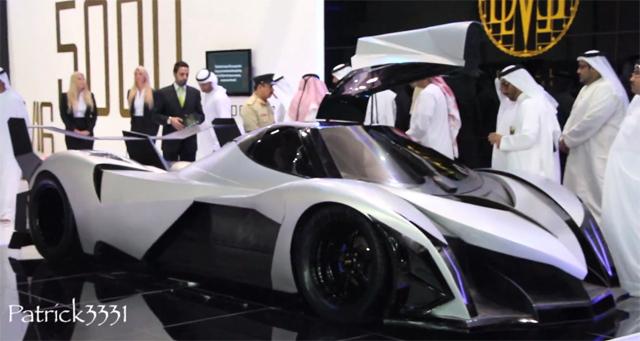 Devel Sixteen Wants To Be A 5000hp 560km H Batmobile Pakwheels Blog