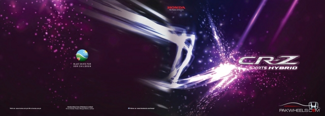 Honda CR-Z Pakistan Brochure