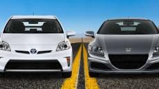 Toyota Prius VS Honda CR-Z