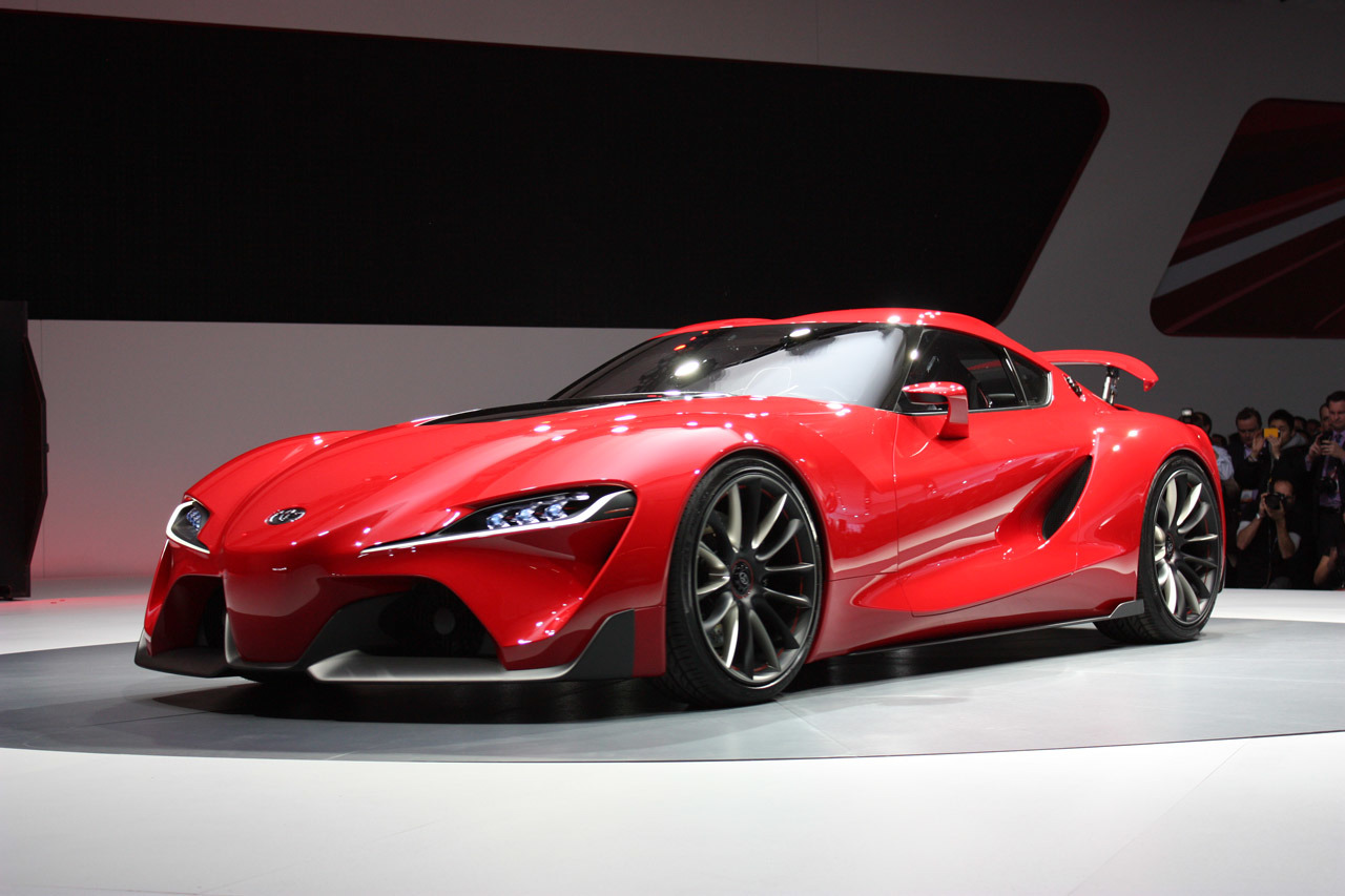 Toyota ft 1 Concept is