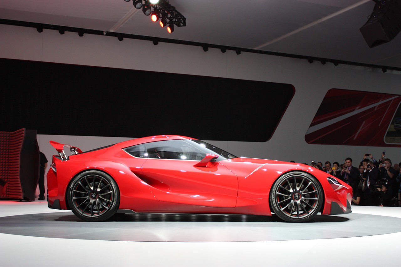 002 Toyota ft 1 Concept