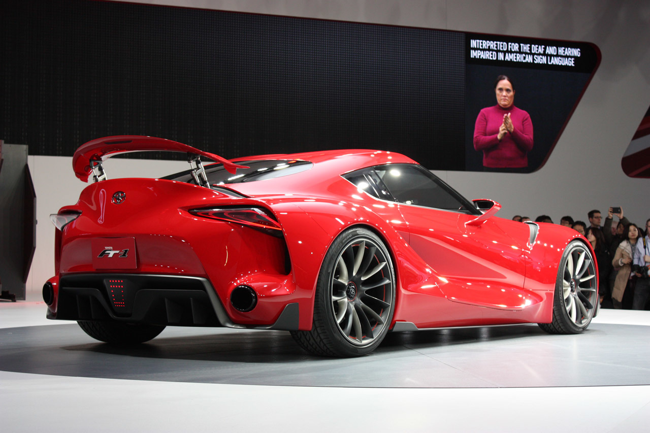 Toyota FT 1 concept is possibly the new Supra PakWheels Blog