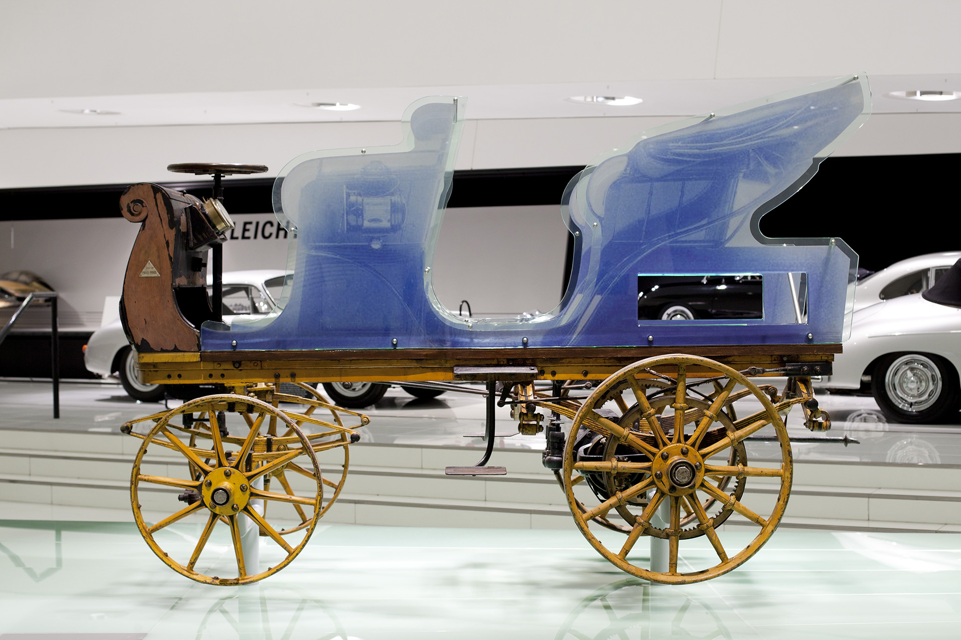 Porsche\'s very first car found in a shed after 112 years - PakWheels ...