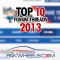 Top 10 Forum Threads 2013