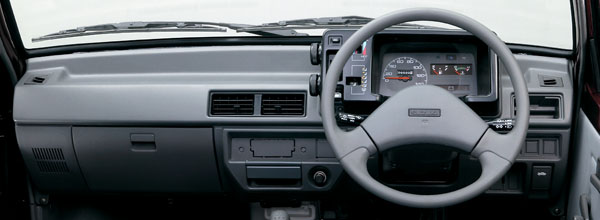 Dashboard of Suzuki Mehran - Basic, Plastic, Practical.