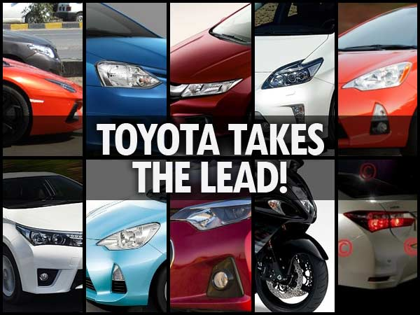 Top 10: Blog Posts – Toyota Takes it Away Again!