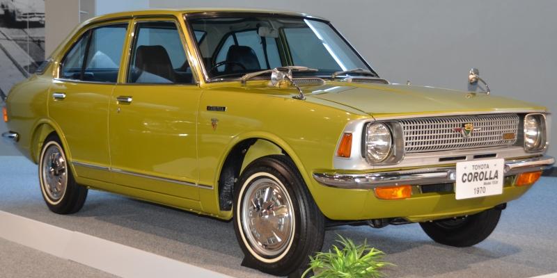 Corolla's Second generation (E20)