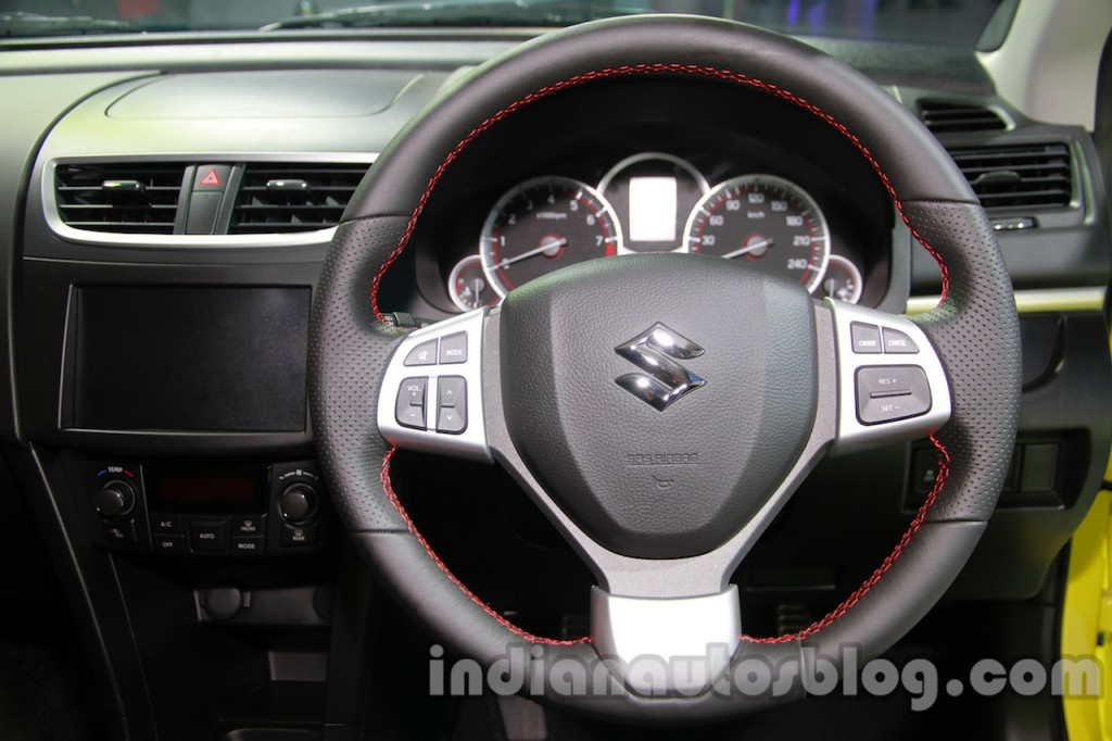Suzuki-Swift-Sport-steering-wheel-at-Auto-Expo-2014-1024x682