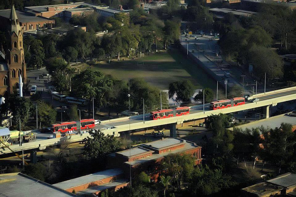 Lahore_Metro_Bus_route