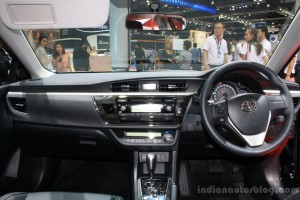 Toyota-Corolla-Altis-ESport-dashboard-at-2014-Bangkok-Motor-Show