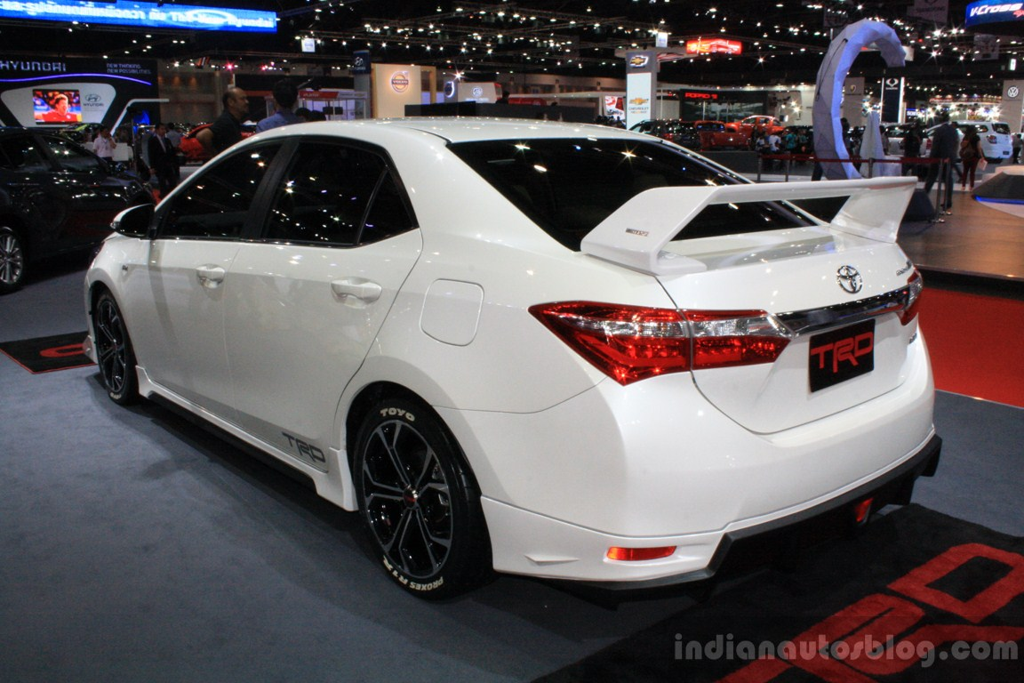 Toyota Unveils Three Variants Of Corolla Altis In Thailand