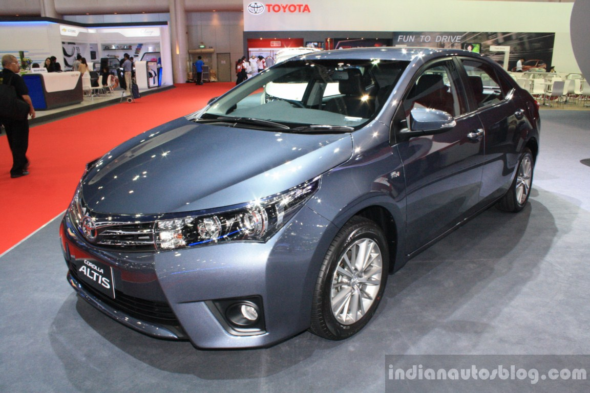 The simple corolla altis is perhaps the most civilized in the entire range with no body kit or whatsoever attached to the car the trd sportivo looks like