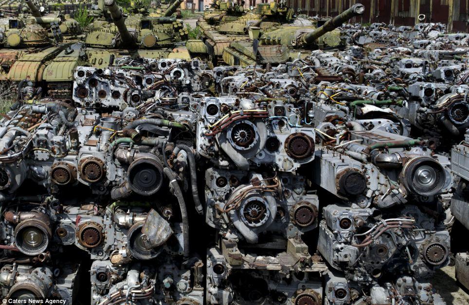 This Is Ukraine S Abandoned Tank Graveyard Pakwheels Blog