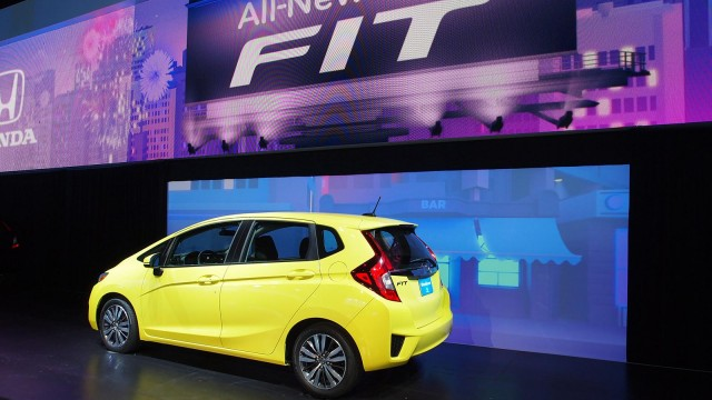 Hyundai Accent Hatchback Is A Great Hatchback But The New Honda Fit 2015  Hatchback In North America Is Decent Sub Compact Car Says Consumer Reports.