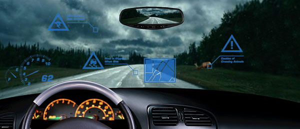Heads-Up-display-in-car