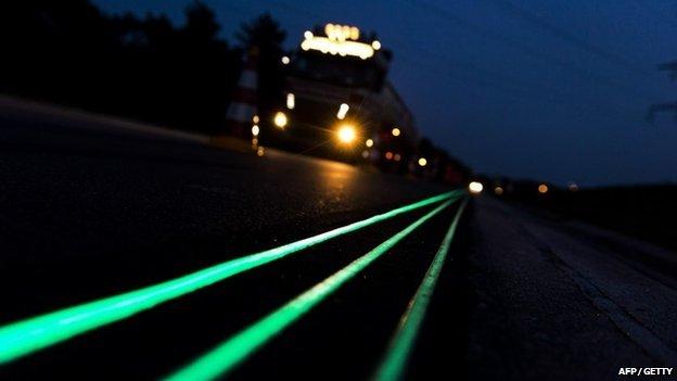 glow roads