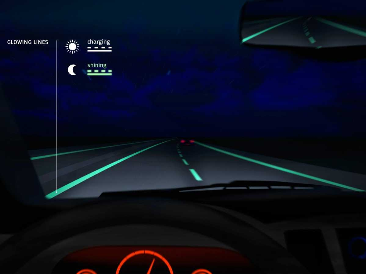 the-netherlands-is-experimenting-with-glow-in-the-dark-roads