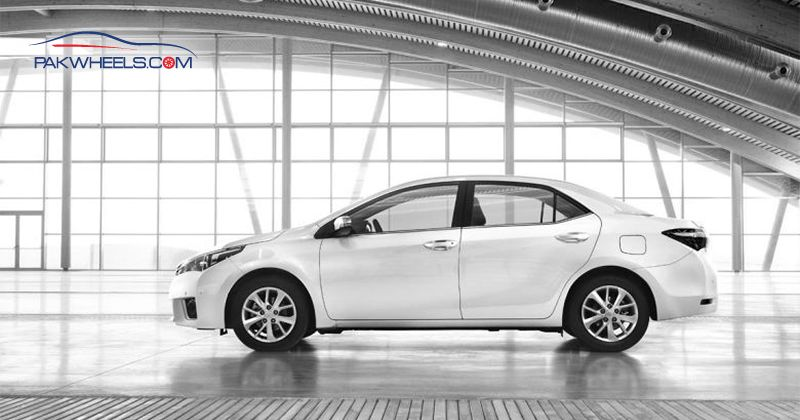 Toyota Corolla 2014 Side View