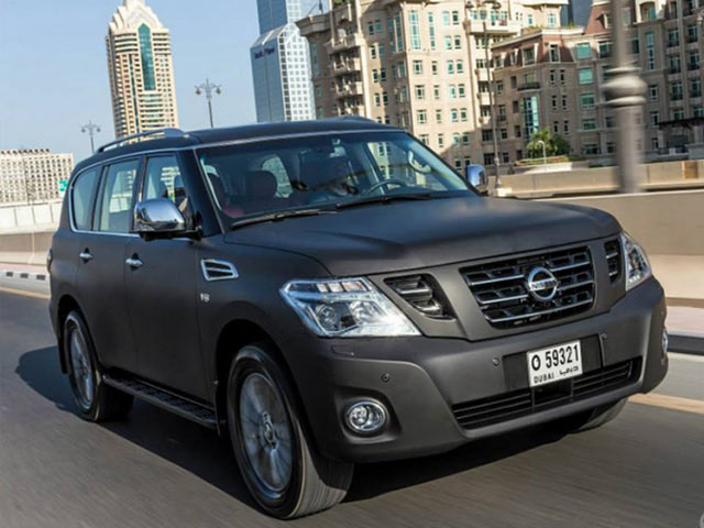 Nissan Patrol VVIP Limited Front